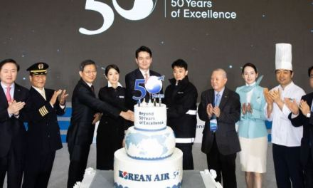 Korean Air Celebrates 50 Years, Looks Ahead To Reaching 100-Year Milestone