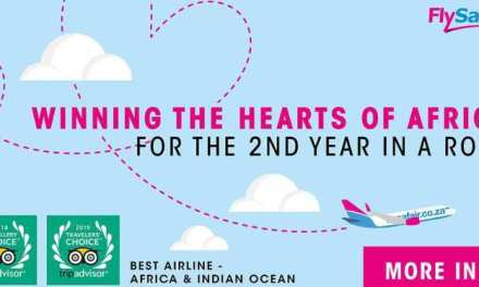 FLYSAFAIR CONTINUES TO SOAR, TAKING HOME THE TITLE OF BEST AIRLINE IN AFRICA FOR SECOND TIME