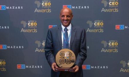 ETHIOPIAN WINS THE PRESTIGIOUS 'AFRICAN CHAMPION OF THE YEAR' AWARD ADDIS ABABA