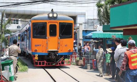 Cambodian, Thai railroads to be connected today