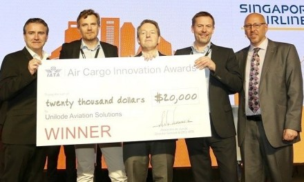 UNILODE AVIATION SOLUTIONS WINS 2019 IATA AIR CARGO INNOVATION AWARD