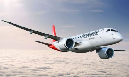 HELVETIC AIRWAYS ADDS A EMBRAER E190-E1