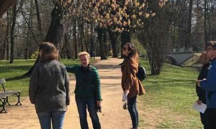 British journalists tour Warsaw and Wrocław