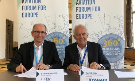 Ryanair Signs Pilot Training Software Partnership With CEFA Aviation