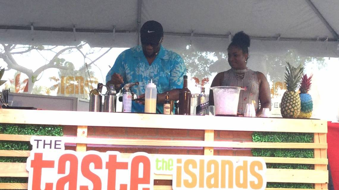 BAHAMIAN DRINK DAZZLES CROWDS AT SOUTH FLORIDA'S TASTE OF THE ISLANDS FESTIVAL