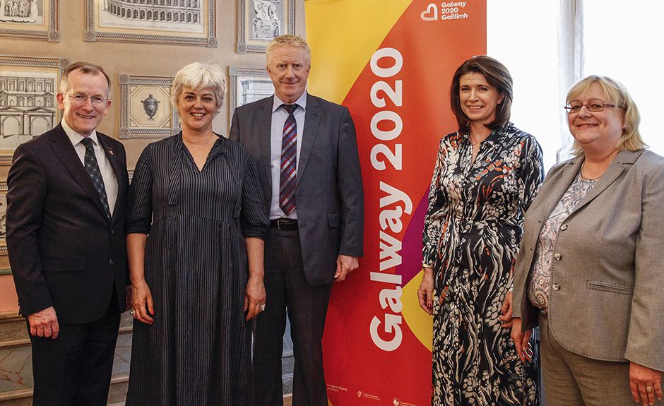 Tourism Ireland launches Galway 2020 in Frankfurt