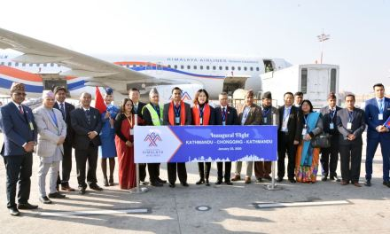 Himalaya Airlines Adds Chongqing to its fast growing network