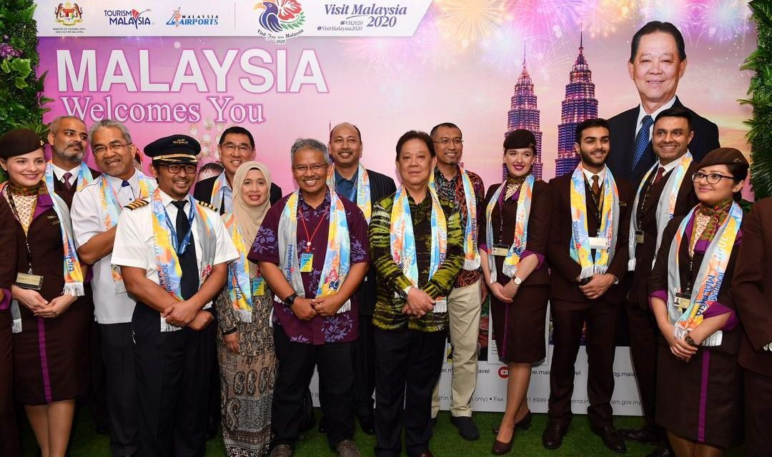 GRAND RECEPTION AT MAJOR ENTRY POINTS IN CONJUNCTION WITH VISIT MALAYSIA 2020