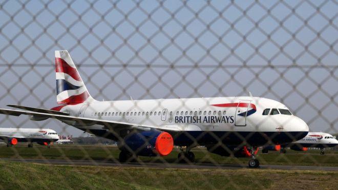 British Airways expected to suspend 36,000 staff