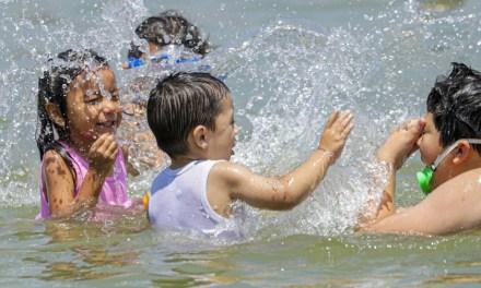 Is it safe to swim in a pool , amid corona virus?