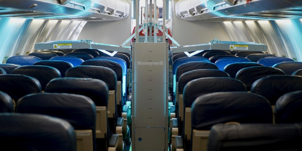 JetBlue Tests Honeywell UV Cabin Disinfection System