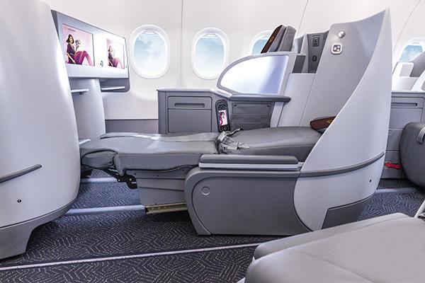 Vistara's First A321neo Offers Lie-Flat Seats
