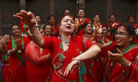 Teej – The Women's Day in red
