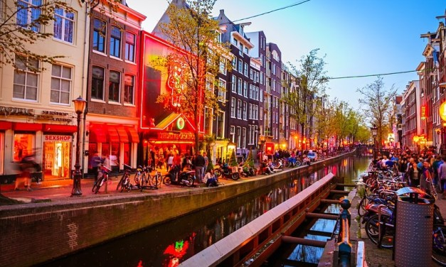 Amsterdam plans to move red light district away from the city