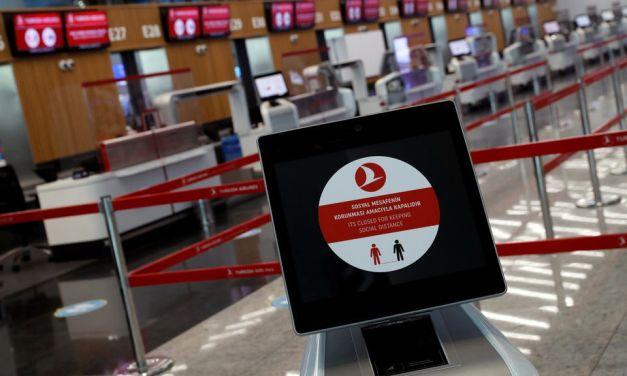 Turkey halts flights from six countries due to coronavirus variants