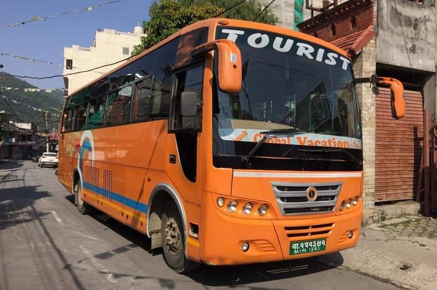 tourist buses resume services for major destinations in Kathmandu