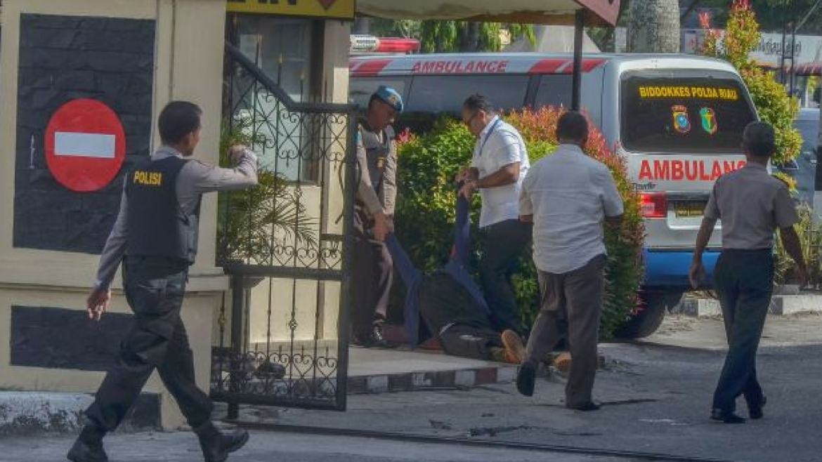 Officer killed at attacks in Indonesia