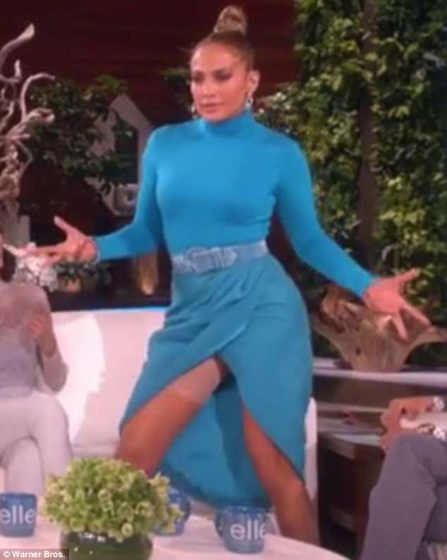 Jennifer Lopez, Spanx, Embarrassing, Dancing
