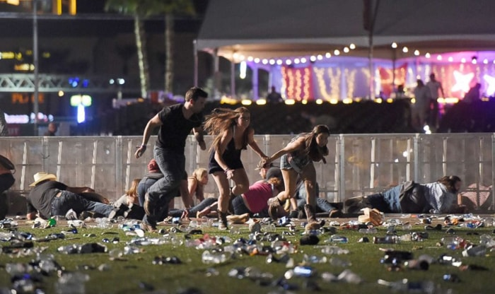 Las Vegas, Massacre, Las Vegas Massacre, People, Running
