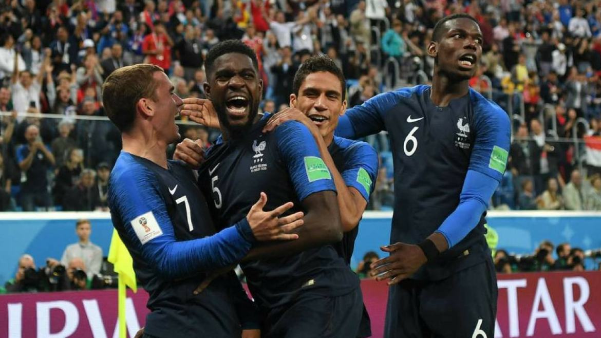 France win the 2018 World Cup