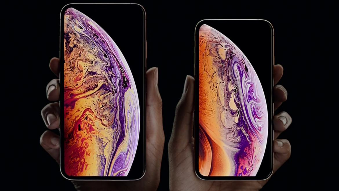 Apple introduced the new iPhone Xs and iPhone Xs Max