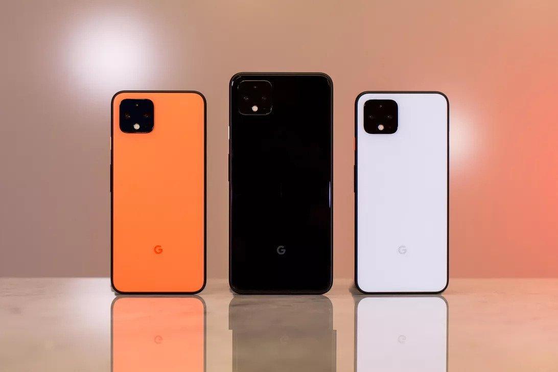 Google Pixel 4 and 4 XL Colors