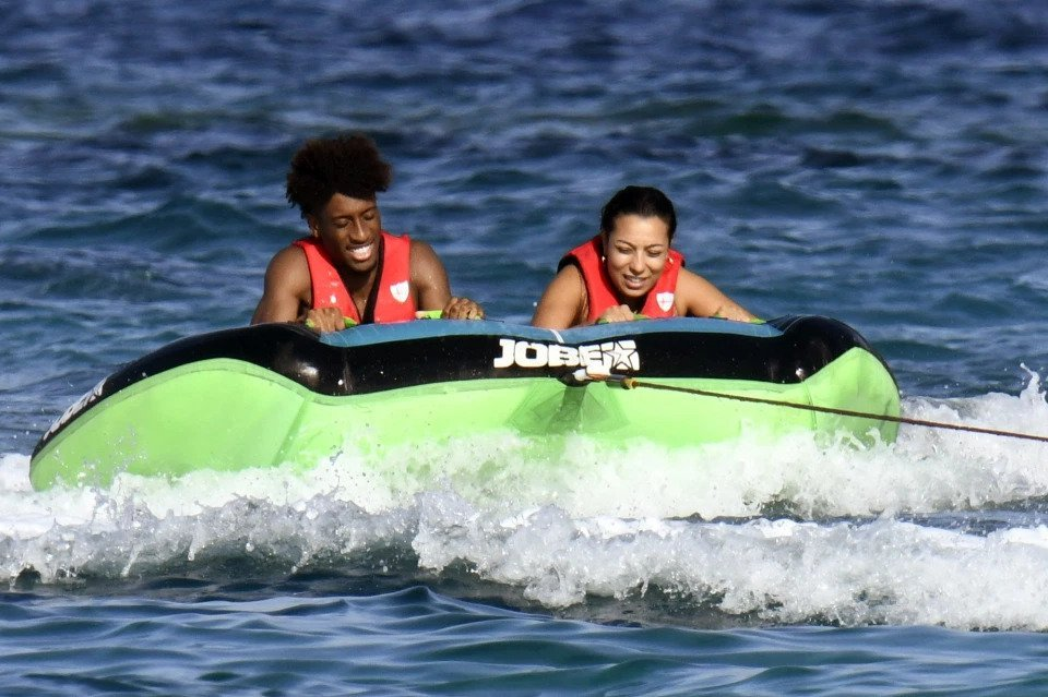 Kingsley Coman on Water