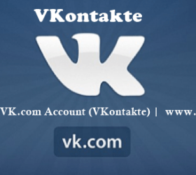Login VK.com Account