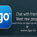 Sign Up for 2go Chat Account | www.2go.im