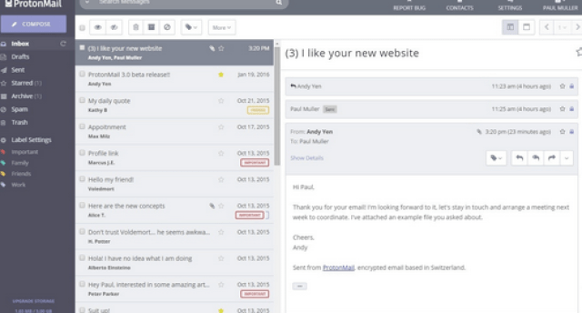 Secure and Encrypt your Email on Protonmail