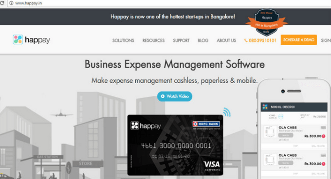 Set up Happay for your business management
