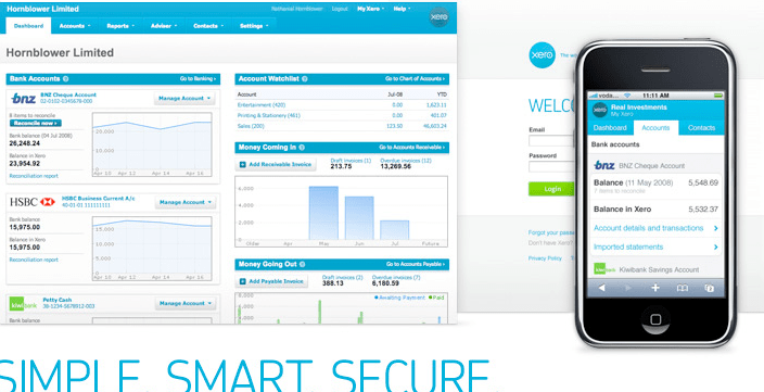 Xero Software for your business update
