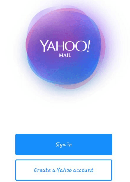 Yahoo Mail Mobile Sign Up