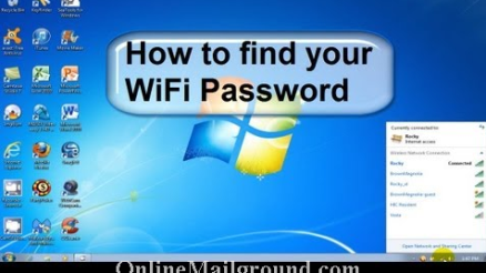 Learn How to Find Your Wifi Password on Windows PC