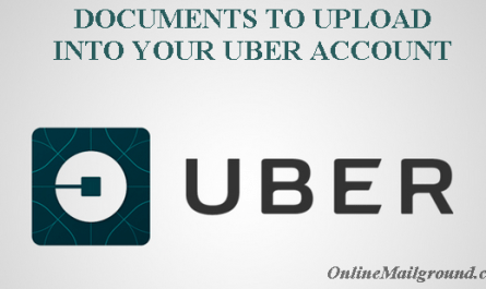 Relevant Documents to Upload into Your Uber Account