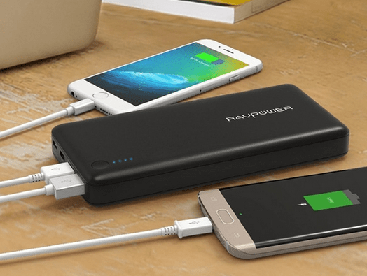 About the RAVPower 20,100mAh
