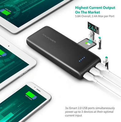 RAVPower 22,000mAh Portable Features