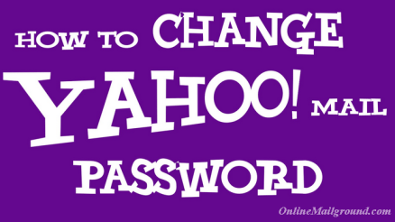 How to Change Yahoo Mail Password