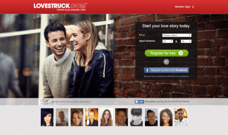About Lovestruck online Dating Site