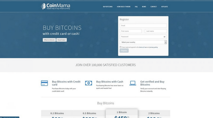 How to Purchase Bitcoin on Coinmama – Login www.Coinmama.com Wallet
