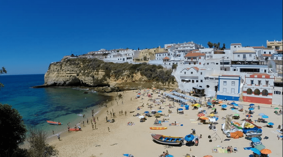 The Carvoeiro Beach View