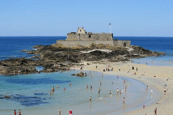 Saint-Malo Beach View