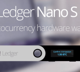 About the Ledger Nano S wallet.