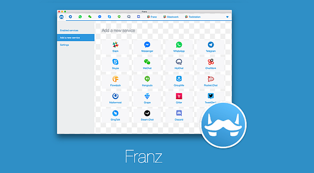 How to Set Up Franz Instant Messaging App