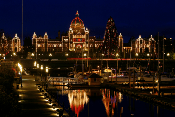 Parliament Buildings in Victoria.