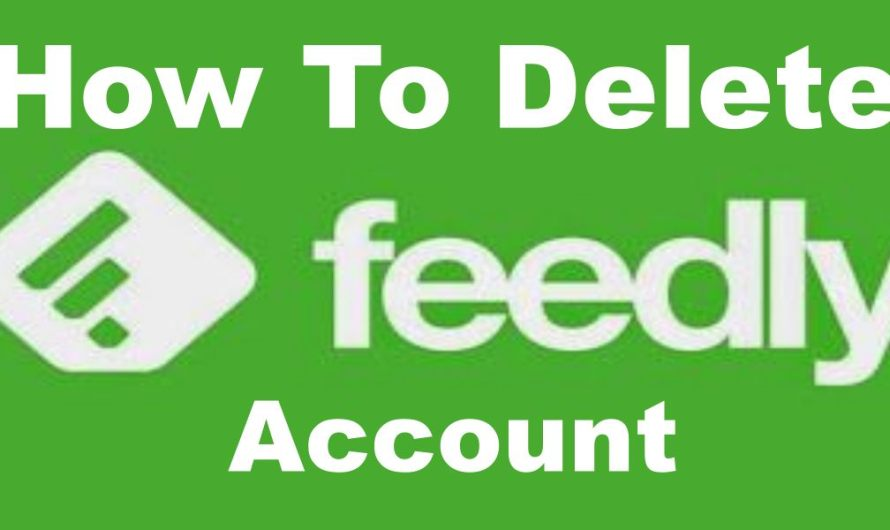 How To Delete Feedly Account | Feedly.com Profile De-activation
