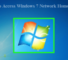 About the Windows 7 Homegroup Network.