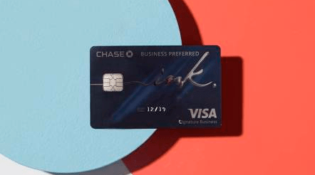 The Chase Ink Business Preferred℠ Credit Card.