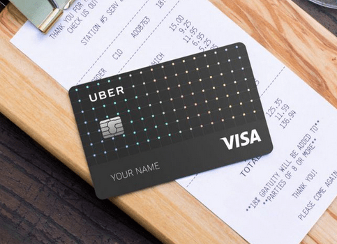 Apply for Uber Visa Credit Card.