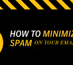 How to Minimize Online Spam.